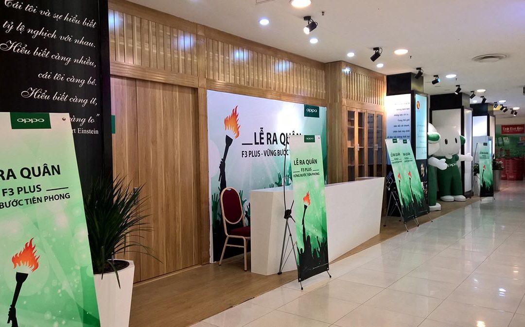 OPPO – Sự kiện ra mắt OPPO F3 Plus tại Hà Nội