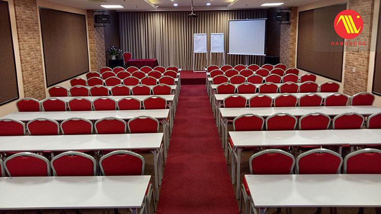 mặt bằng phòng hội thảo